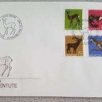 1967 FDC Pro Juventute Serie