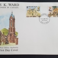 1978 FDC Isle of Man James K. Ward
