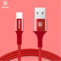 Iphone Lightning Ladekabel 200cm rot