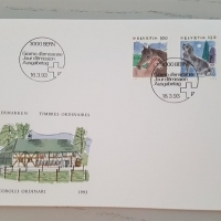 1993 FDC Tiere