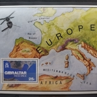 1978 Gibraltar from Space