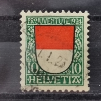 1924 Solothurn MiNr: 210