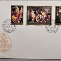 1976 FDC Peter Paul Rubens MiNr: 655-657