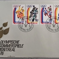 1976 FDC Olympia MiNr: 658-661