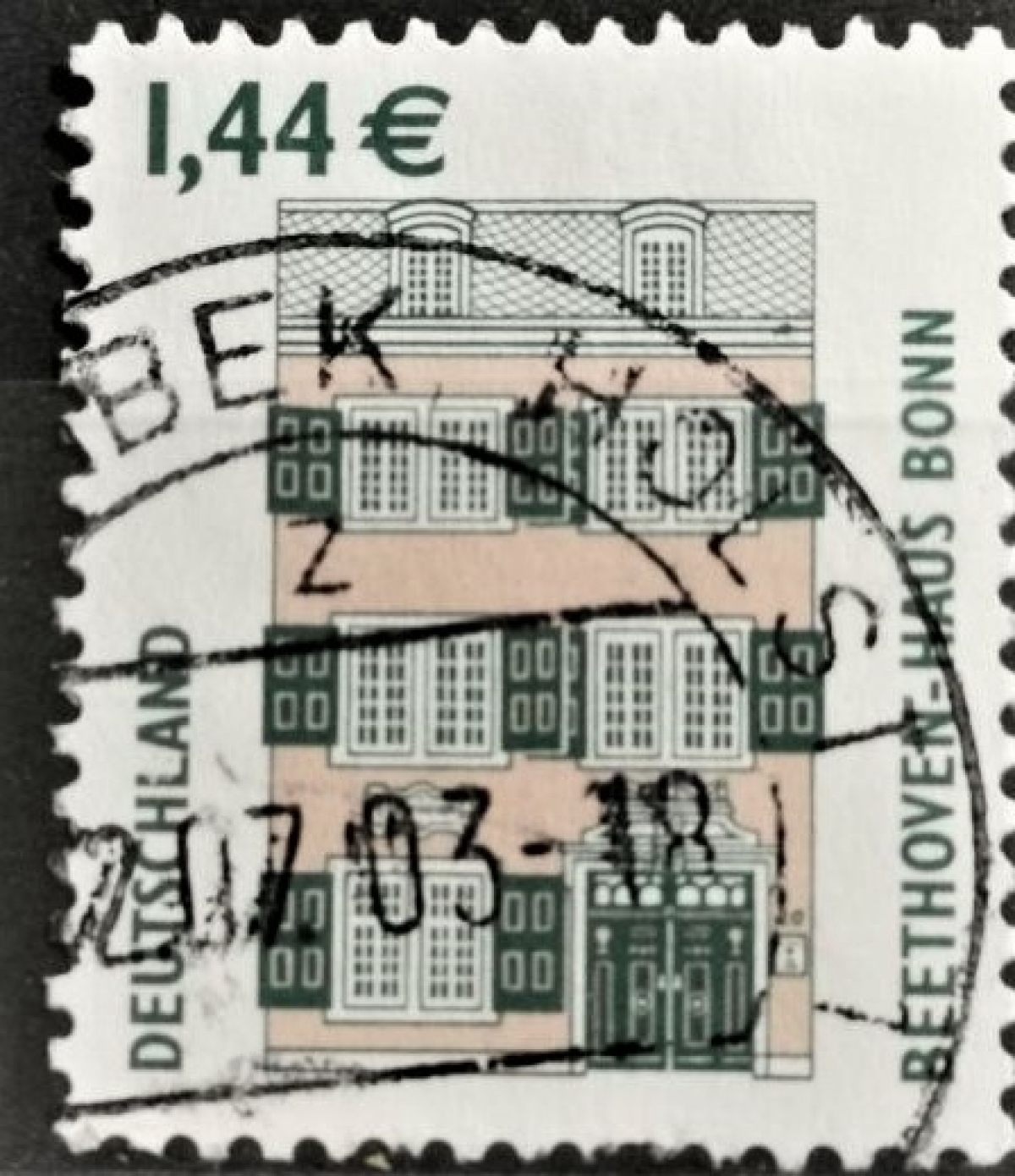 2003 Beethoven Haus Berlin MiNr: 2306A