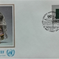 1987 FDC United Nations NY Comoren