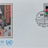 1987 FDC United Nations NY Afghanistan