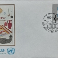 1987 FDC United Nations NY Argentinien