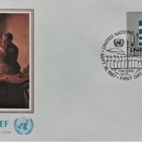 1987 FDC United Nations NY Griechenland