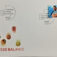 2004 FDC Suisse Balance MiNr: 1892